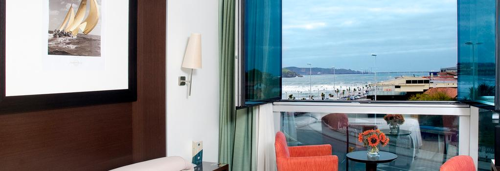 Hotel Abba Playa Gijon - Gijon - Bedroom