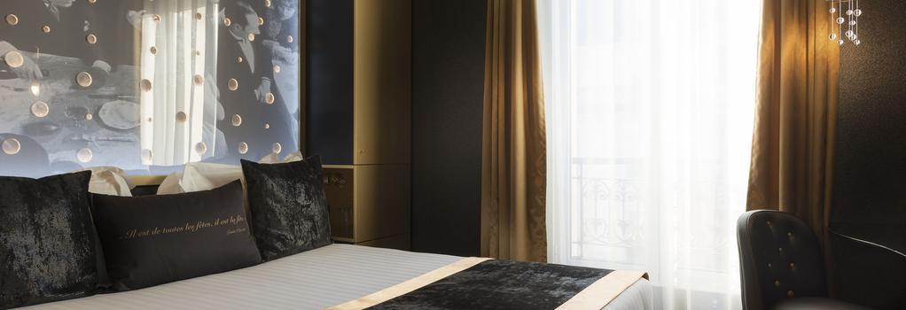 Hotel Les Bulles De Paris - Paris - Bedroom