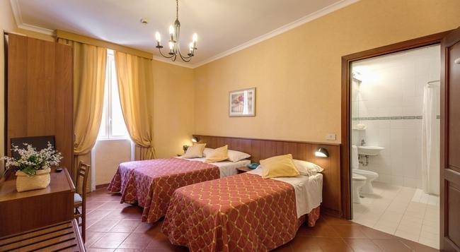 Hotel Corona - Rome - Bedroom