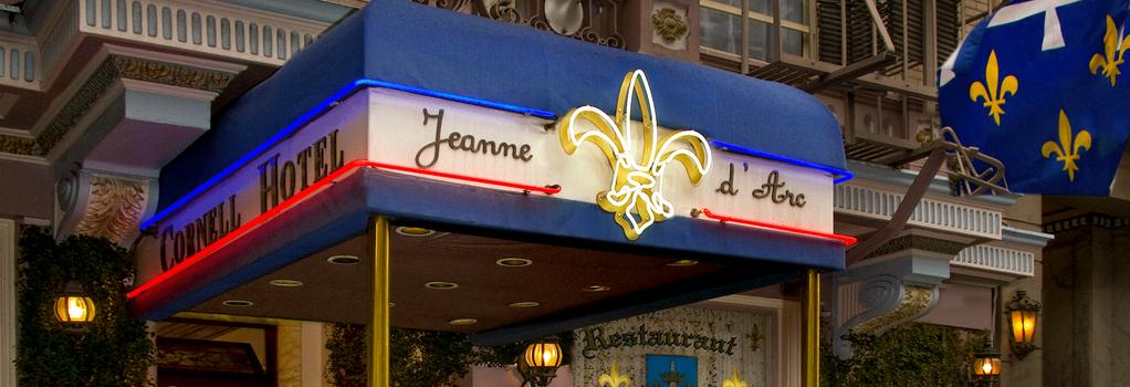 Cornell Hotel de France - San Francisco - Building