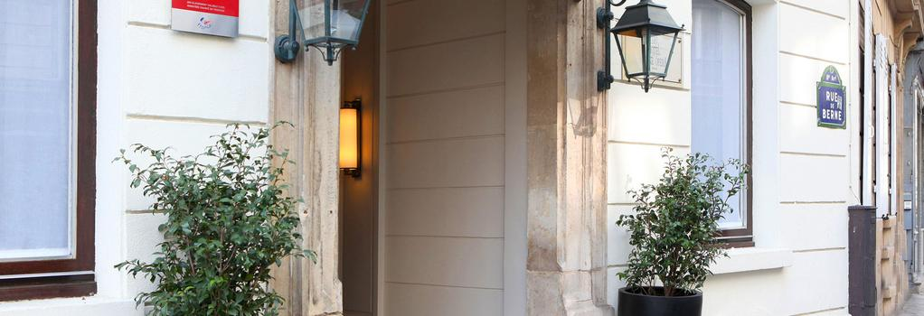 Hotel Berne Opera - Paris - Building