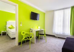 Hotel City Inn - Basel - Living room