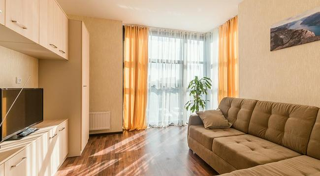 Aparthotel 'Pulkovo-Park' - Saint Petersburg - Living room