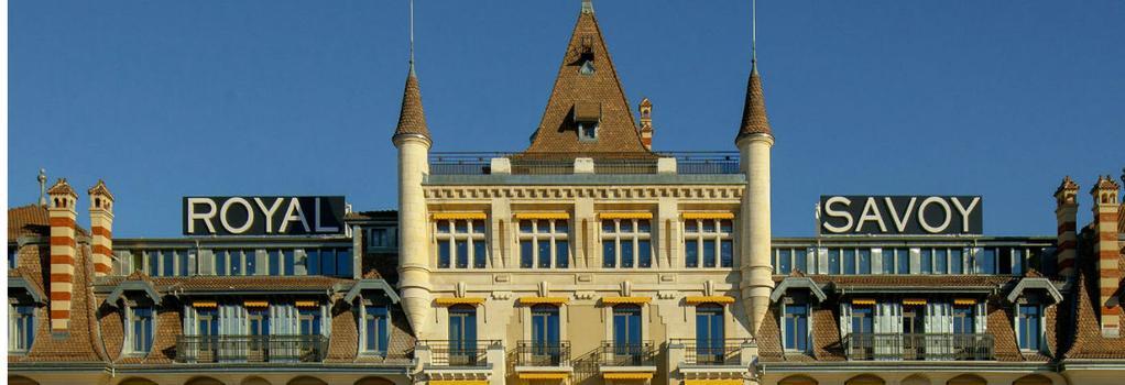 Hotel Royal Savoy Lausanne - Lausanne - Building