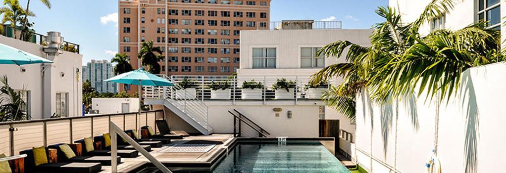 Posh South Beach Hostel, A South Beach Group Hotel - Miami Beach - Building