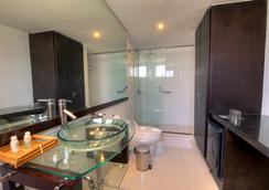 Santorini Hotel Boutique - Santa Marta - Bathroom