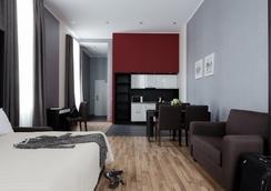 Apart-hotel Vertical - Saint Petersburg - Bedroom