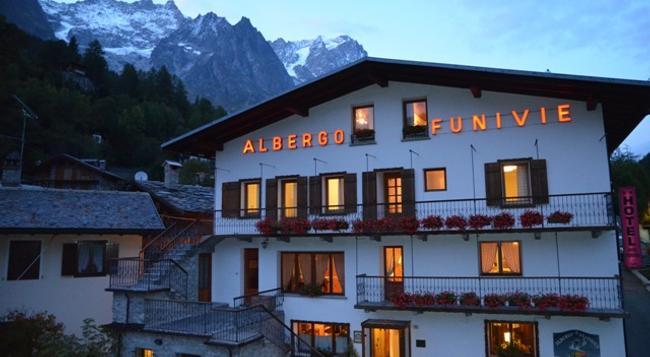 Hotel Funivia - Courmayeur - Building
