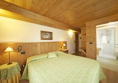 Hotel Dente Del Gigante - Courmayeur - Bedroom