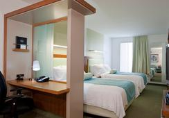 SpringHill Suites by Marriott Salt Lake City Airport - Salt Lake City - Bedroom
