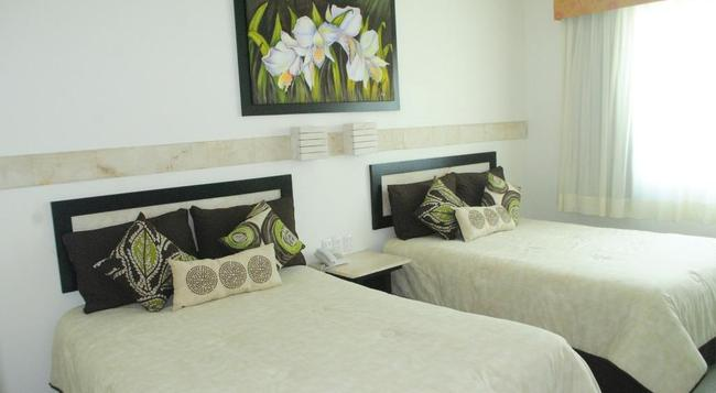 Tulija Express Excellent City Hotels - Palenque - Bedroom