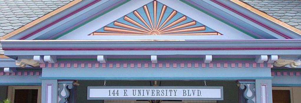 The Big Blue House - Tucson Boutique Inn - Tucson - Building