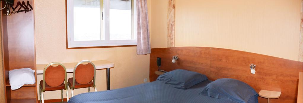 Hôtel le Cheval Noir - Pantin - Bedroom