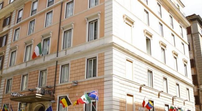 Hotel Torino - Rome - Building