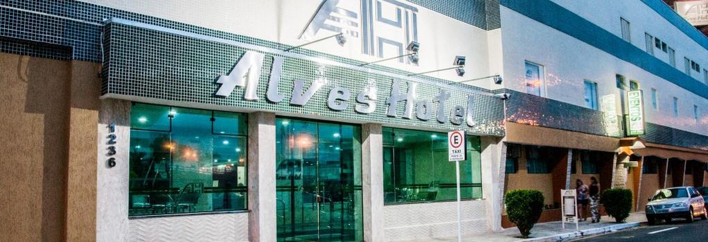 Alves Hotel - Marilia - Building