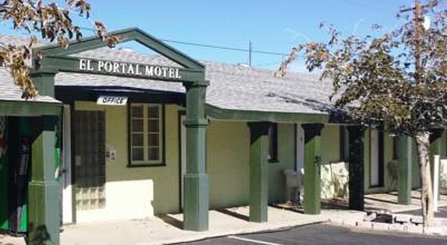 El Portal Motel - Beatty - Building