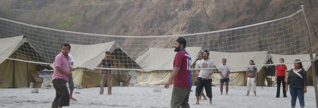 Camp Gold Coast - Rishikesh - Beach