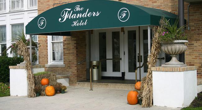 Flanders Hotel - Ocean City - Building