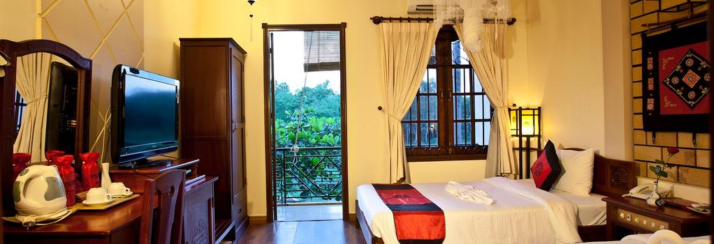Thien Thanh Boutique Hotel - Hoi An - Bedroom