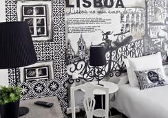 The Art Inn Lisbon - Lisbon - Bedroom