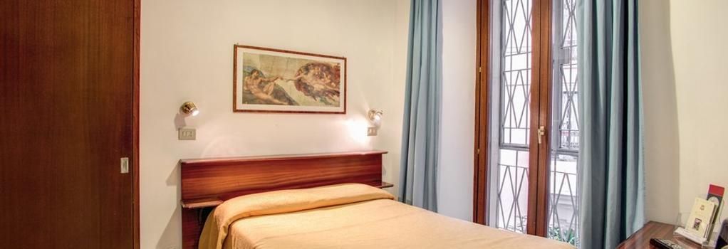 Hotel Primavera - Rome - Bedroom