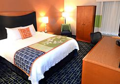 Fairfield Inn and Suites by Marriott Anaheim North-Buena Park - Buena Park - Bedroom