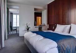 Hostellerie Bon Rivage - Montreux - Bedroom