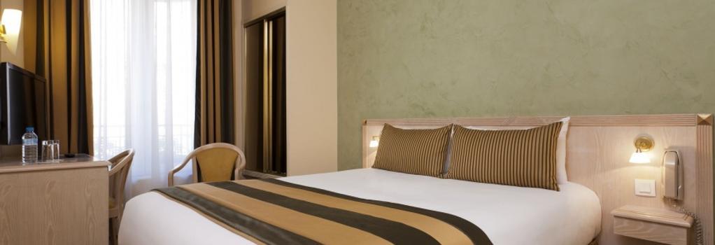 Hôtel Champerret-Elysées - Paris - Bedroom