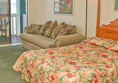 Hawaiian Inn Daytona Beach By Sky Hotels And Resort - Daytona Beach - Bedroom