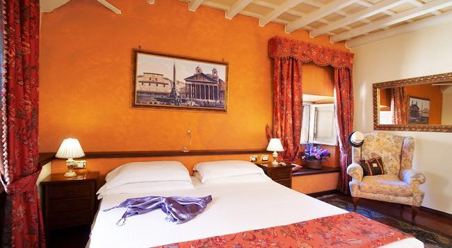 Pantheon Inn - Rome - Bedroom