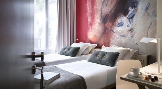 Hotel Max - Paris - Bedroom