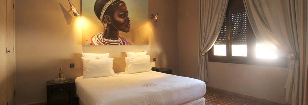 Palais Dar Ambre - Marrakesh - Bedroom