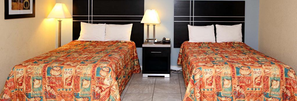 Blue Marlin Inn & Suites - Virginia Beach - Bedroom