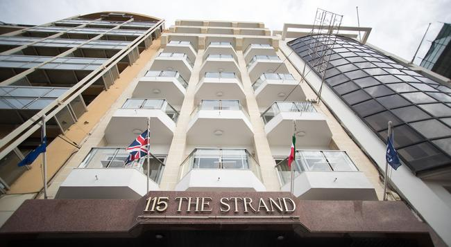 115 The Strand Hotel and Suites - Gzira - Building