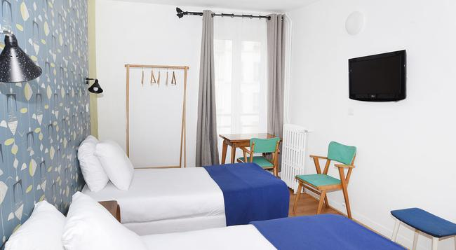Zazie Hotel - Paris - Bedroom