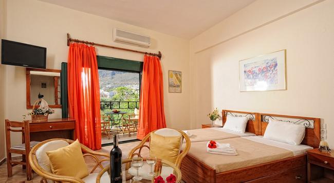 Erofili Apartments - Chersonisos - Bedroom
