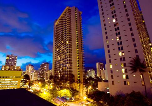 Waikiki Beach Marriott Resort & Spa - Honolulu - Building