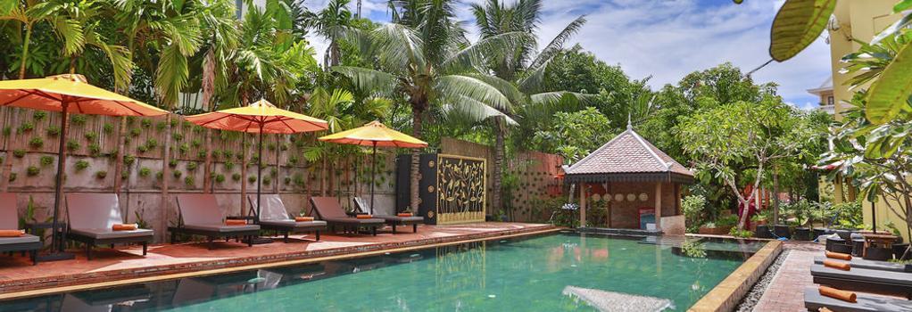 Home Indochine D'Angkor - Siem Reap - Building