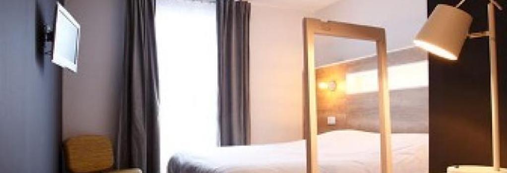 Hôtel Le Collonges - Brive-la-Gaillarde - Bedroom