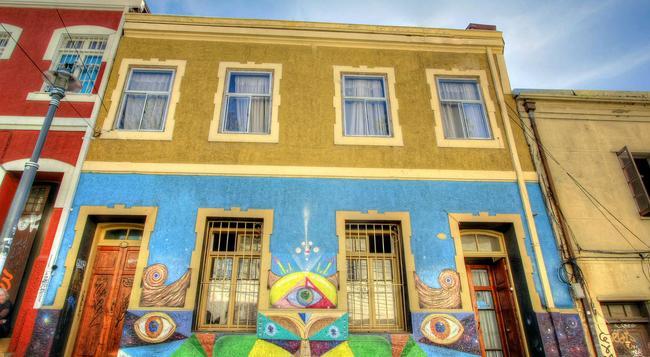 Angel Hostal - Valparaiso - Building