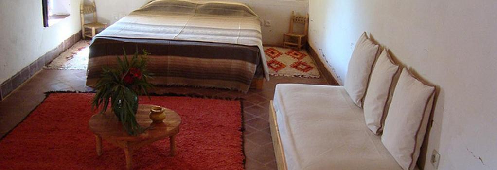 Sel d'Ailleurs - Asni - Bedroom