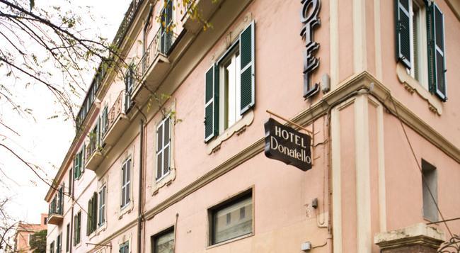 Hotel Donatello - Rome - Building