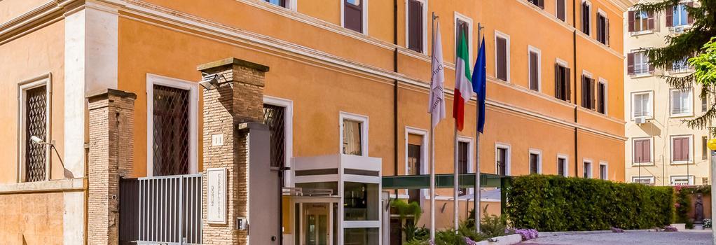 Domus Carmelitana - Rome - Building
