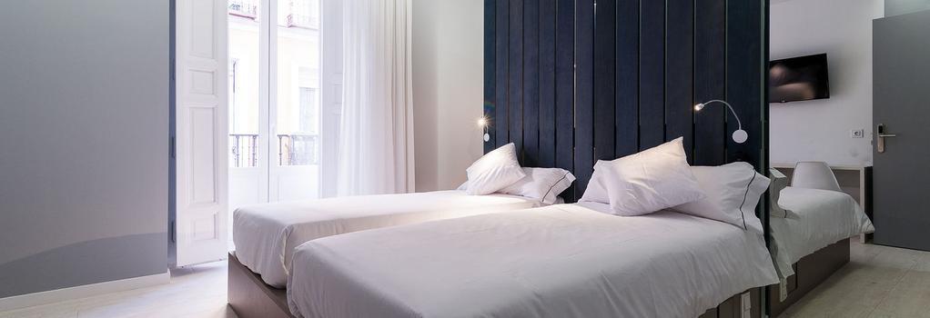 B&B Hotel Fuencarral 52 - Madrid - Bedroom