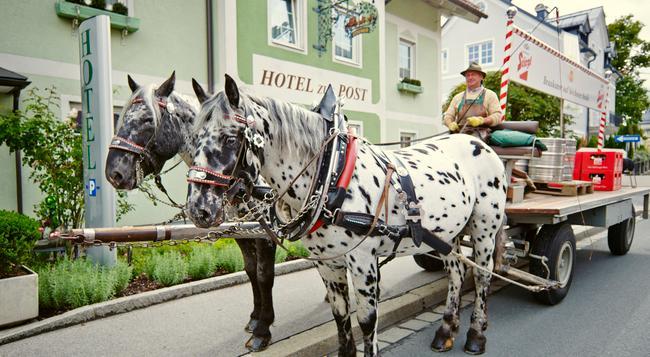 Das Grüne Bio-Hotel zur Post - Salzburg - Outdoor view