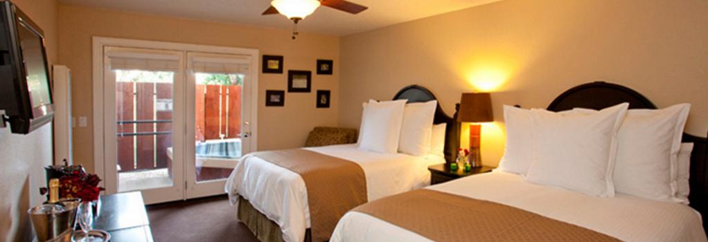 Sycamore Mineral Springs Resort - San Luis Obispo - Bedroom