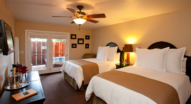 Sycamore Mineral Springs Resort - San Luis Obispo - Bedroom