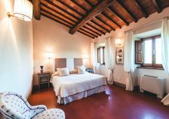 Castello Vicchiomaggio - Greve in Chianti - Bedroom