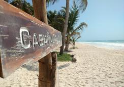Hotel Cabanas Los Lirios Tulum - Tulum - Beach