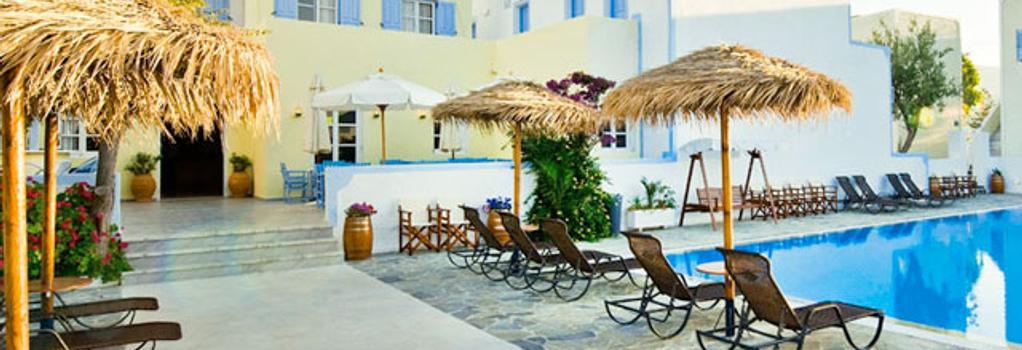 Alexandra Hotel - Kamari (Santorini) - Building